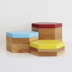 Pin by Jo Wood on Storage Pinterest Small storage boxes Hexagon