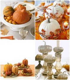 Thanksgiving Tablescape and Centerpiece Ideas