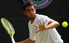 Wimbledon Britiain's number two player, James Ward who has a ranking of took the seed, Mardy Fish, to five sets but couldn't beat the American who won Wimbledon 2012, James Ward, Number Two, Tennis Racket, Thriller, Beats, Fish, London, American