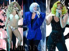 Lady Gaga en los MTV 2013