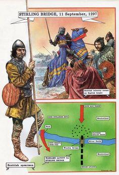 Battle of Stirling Bridge, 1297 AD