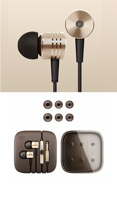 Mi In-ear Headphone (Piston Design) by Xiaomi Electronics Gadgets, Technology Gadgets, Works With Alexa, Sound Design, Shape Design, Audiophile, Cool Gadgets, Industrial Design, Simple Designs