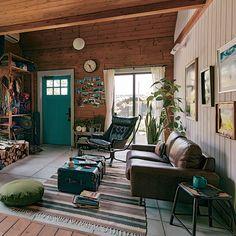 Room Interior, Home Interior Design, Interior Styling, Interior Decorating, Loft Design, House Design, Earthy Decor, California Style, Simple House