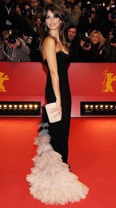 WHAT: L'Wren Scott - WHERE: Elegy premiere at the 58th Berlinale Film Festival, 2008