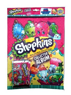 Shopkins Series 3 Starter Pack: Shopkins™ return cuter and sweeter than ever! Shopkins™ Series 3 Collectible Card range is coming your way with all new characters.