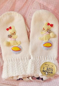 Bunny Mittens. SO cute!!!