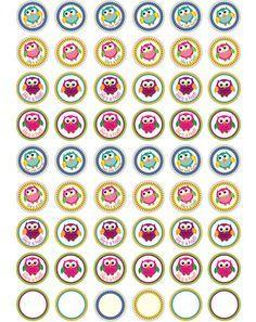 Owl Bottle Cap Images at Bottle Cap Co