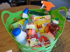 How to put together a Housewarming Gift Basket