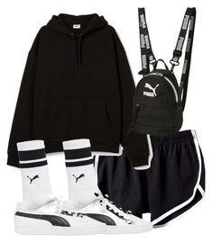 """Untitled #5659"" by theeuropeancloset ❤ liked on Polyvore featuring Puma"