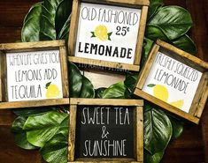 Rae Dunn Inspired Lemonade Sweet Tea Sign Spring Summer Farmhouse Style Wooden Home Decor Sign Coffee Bar Sign Fresh Squeezed – Vintage Farmhouse Decor Home Design, Diy Design, Interior Design, Farmhouse Style, Farmhouse Decor, Farmhouse Ideas, Farmhouse Furniture, Farmhouse Signs, Modern Farmhouse
