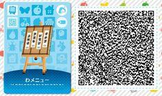 ACNL/ACHHD QR CODE-Sum menu