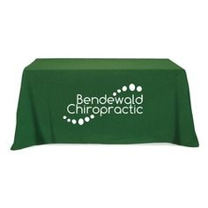 Flat 3-sided Table Cover - fits 6 foot standard table. Perfect for an trade show event!
