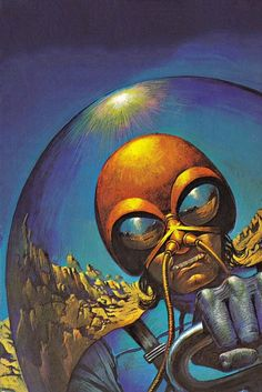 Bruce Pennington - Space Ranger, 1973. / The Science Fiction Gallery