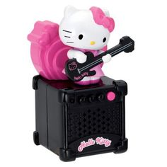 Spectra Hello Kitty Animated Mini Speaker with Aux-In Jack - Sanrio Hello Kitty, Hello Kitty Baby, Hello Kitty Items, Miffy, Best Kids Toys, Cool Cats, Baby Car, Rock And Roll, Cool Things To Buy