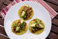 Asian Fusion Tacos with Chunky Tomatillo Salsa | Tasty Kitchen: A Happy Recipe Community!