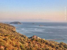 View from Glossa @ Skopelos island, Greece, * photo credit:  Kat d' Athènes ®  *  http://instagram.com/kat_d_athenes