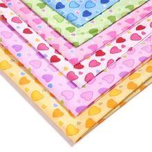 47691 50*147 CM amor 100% tejido de Poliéster para Niños ropa de Cama de Tejido textil para Coser Tilda Muñeca, materiales hechos a mano BRICOLAJE(China (Mainland))