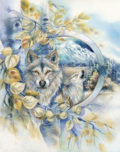 Wolves | Jody Bergsma Artist