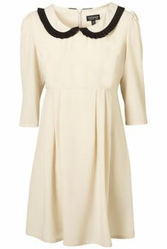 topshop pleated peter pan collar dress // saw this in the store last month and i want it so muh-huh-huchhh