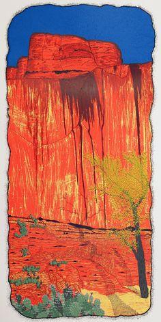 """The Sun Dial – Escalante Canyon, UT,"" by Jason Lehrer. Twenty-one colors."