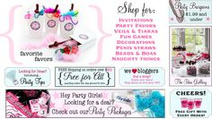 "if you need ""naughty"" things for a bachelorette party, this is the site! I am totally totally blushing!"