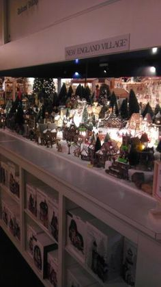 Bronners, all the Christmas villages by lynnette
