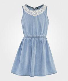 United Colors of Benetton Платье  Shambrey Denim Blue BLUE 901