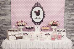 Minnie Mouse Birthday Party Planning Ideas Supplies Idea Mickey Mouse