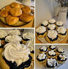kudy-kam...: Vdolky pečené v troubě Dessert Recipes, Desserts, Karate, Pastries, Basket, Tailgate Desserts, Deserts, Tarts, Postres