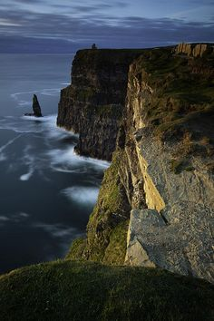 Cliffs of Moher, Ireland---Can't wait to see it! :) Reminds me of Harry Potter <3