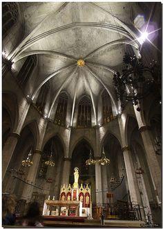 LA SEU DE MANRESA - SPAIN, Gothic vault / Bóveda gótica, via Flickr