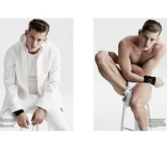 "Sebastian Sauve: ""SS15 issue of @rollacoastermagazine @PremierModels @nick_haddow @Andrewdav1s "" - Photo by Nick Haddow for Rollacoaster Magazine Spring Summer 2015 Issue - January 17, 2015"