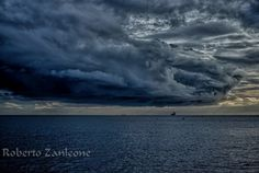 Storm over the ship by Roberto Zanleone on 500px