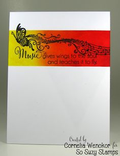 Stempel Spass: So Suzy - Butterfly Music
