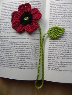 Lesezeichen ,Mohnblume , Häkelblumen , gehäkelt | Bücher, Bücherzubehör, Lesezeichen | eBay!