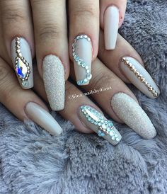 With these nails your hands will always look cared and nice, and you will feel seductive.