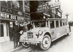1923 Greyhound Bus