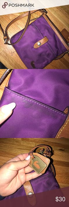 Dooney & Bourke purple purse Good condition, some light fading on the edge(not noticeable) Dooney & Bourke Bags Crossbody Bags