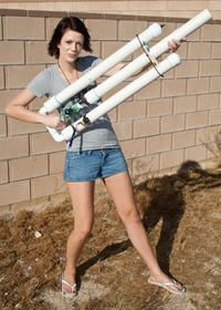 Pneumatic Potato Cannon! Can't have much more fun than this!