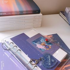 Bullet Journal School, Bullet Journal Ideas Pages, Bullet Journal Inspiration, Cute Journals, Bullet Journal Aesthetic, Purple Aesthetic, Kpop Aesthetic, Photo Today, Bts Merch