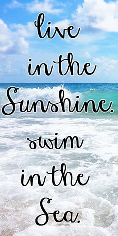 The beaches of south Florida are beautiful. Relax and enjoy Florida's expanse beaches. #quote #beach #florida