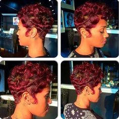 Finger Waves Cute Short Hairstyles for Black Females