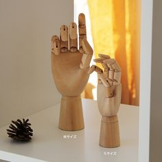 HAY+(ヘイ)+Wooden+HandMサイズ木製ハンドトルソー/オブジェ【楽天市場】