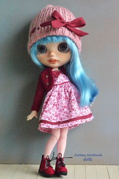 blythe blythes doll dolls muñeca muñecas for sale cute clothes red hair pretty art blonde adoption