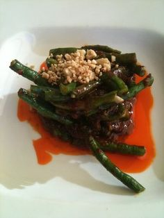 Spicy green beans at Koh Samui & The Monkey in #SF