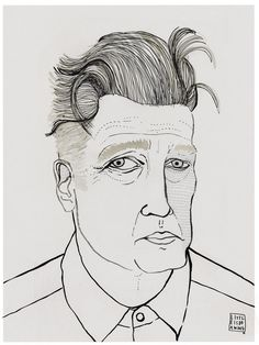 DAVID LYNCH - little is drawing