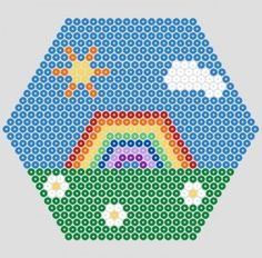 Hama bead designs - seasons (from @MerrilyMe)