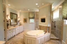luxurious master bath - plan 024S-0024 - houseplansandmore.com