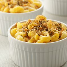 Try our Party Mac and Cheese , using Oikos Greek yogurt as a substitute ingredient for your recipes.
