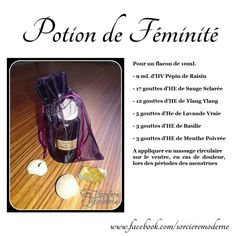 Recette de Potion : Huile de Féminité Wicca Witchcraft, Pagan Witch, Wiccan, Magick, Gaia, Modern Witch, Pentacle, Book Of Shadows, Blog